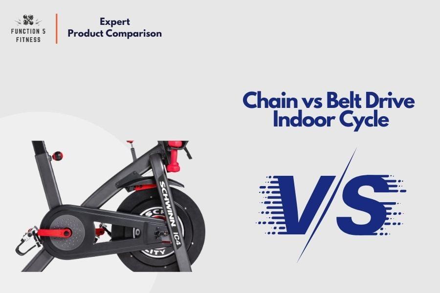Chain vs Belt Drive Spin Bike