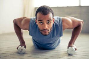 Dumbbell Chest Exercises Without a Bench 1