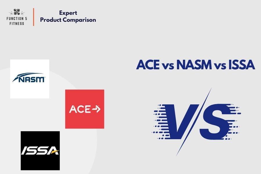 ACE vs NASM vs ISSA