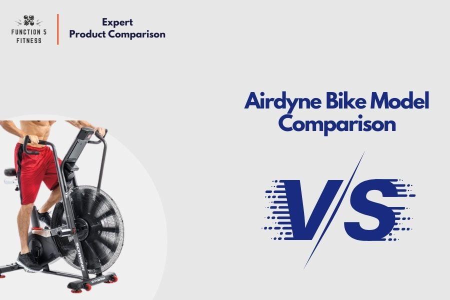 Airdyne Bike Model Comparison