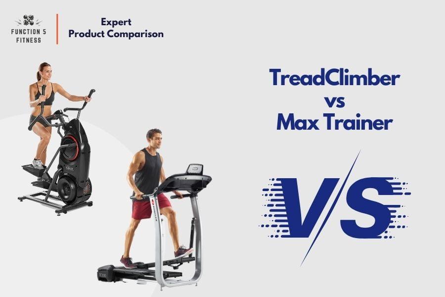 Bowflex TreadClimber vs. Max Trainer