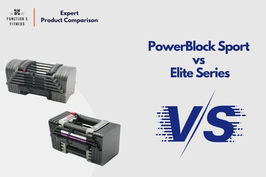 PowerBlock Sport vs Elite Series
