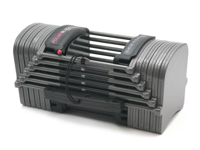 PowerBlock Sport Adjustable Dumbbell Set