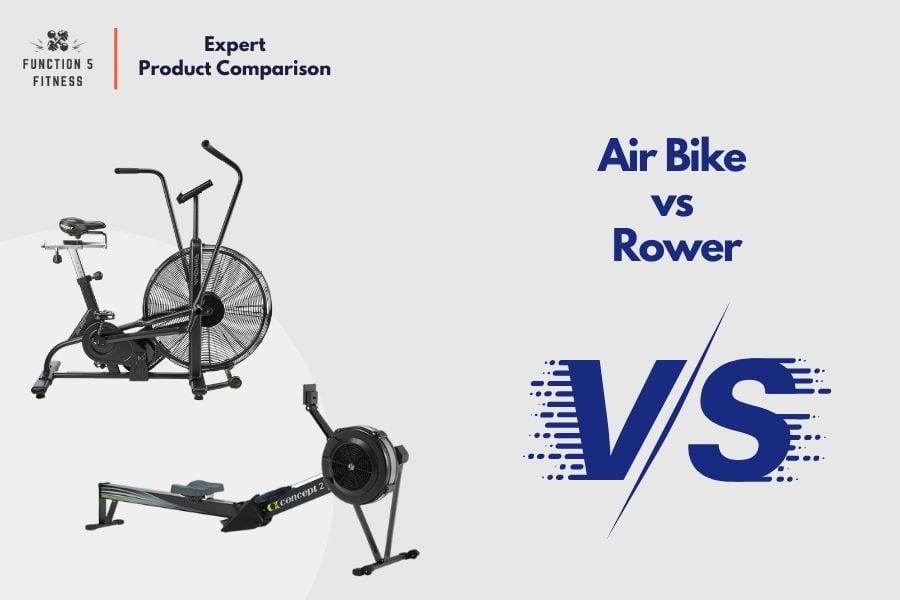 airbike vs rower
