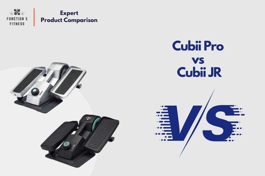 cubii pro vs jr